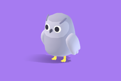 Quirky-Series-Artic-Animals-Snow-Owl