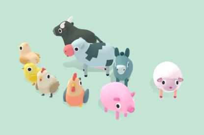 Quirky-Series-Farm-Animals-Vol.1