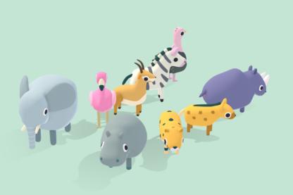 Safari-Animals