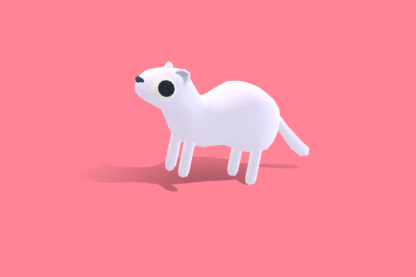 Quirky-Series-Artic-Animals-Snow-Weasel