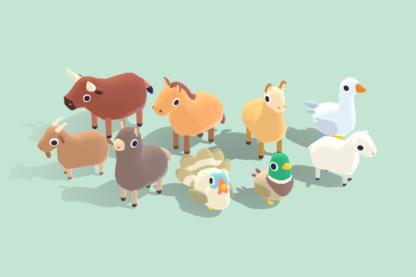 Quirky-Series-Farm-Animals-Vol.2