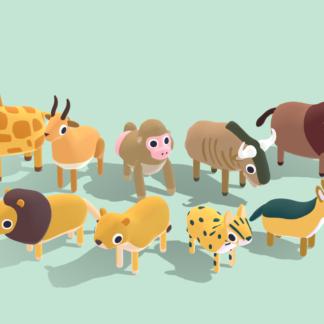 Safari-Animals-Vol.2